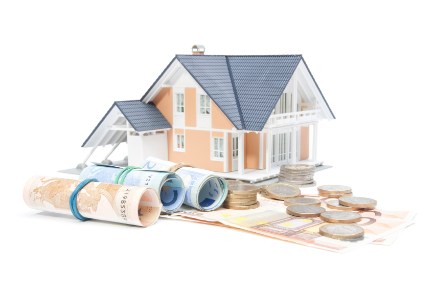 Housing finance, building savings and realty financing (investments) concept.
